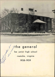Page 7, 1959 Edition, Lee Junior High School - General Yearbook (Roanoke, VA) online yearbook collection