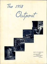 Page 6, 1958 Edition, Clinch Valley College - Outpost Yearbook (Wise, VA) online yearbook collection