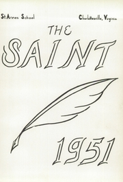 Page 7, 1951 Edition, St Annes School - Synopsis Yearbook (Charlottesville, VA) online yearbook collection