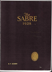 Page 1, 1928 Edition, Randolph Macon Academy - Sabre Yearbook (Bedford, VA) online yearbook collection