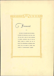 Page 11, 1928 Edition, Randolph Macon Academy - Sabre Yearbook (Bedford, VA) online yearbook collection