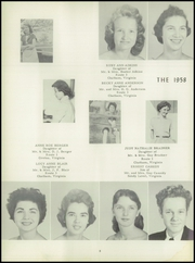 Page 12, 1958 Edition, Climax High School - Eagle Yearbook (Chatham, VA) online yearbook collection