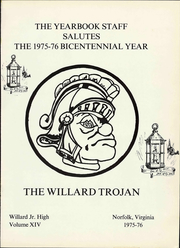 Page 7, 1976 Edition, Willard Junior High School - Trojan Yearbook (Norfolk, VA) online yearbook collection