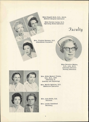 Page 14, 1960 Edition, Petersburg General Hospital School of Nursing - Round Caps Yearbook (Petersburg, VA) online yearbook collection