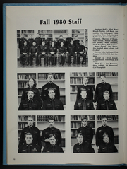 Page 14, 1981 Edition, University of Virginia Naval ROTC - Long Glass Yearbook (Charlottesville, VA) online yearbook collection