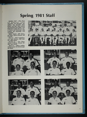 Page 15, 1981 Edition, University of Virginia Naval ROTC - Long Glass Yearbook (Charlottesville, VA) online yearbook collection