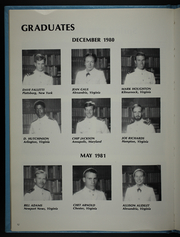 Page 16, 1981 Edition, University of Virginia Naval ROTC - Long Glass Yearbook (Charlottesville, VA) online yearbook collection