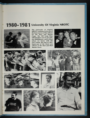 Page 7, 1981 Edition, University of Virginia Naval ROTC - Long Glass Yearbook (Charlottesville, VA) online yearbook collection