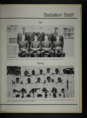 Page 13, 1983 Edition, University of Virginia Naval ROTC - Long Glass Yearbook (Charlottesville, VA) online yearbook collection