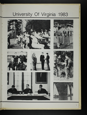 Page 7, 1983 Edition, University of Virginia Naval ROTC - Long Glass Yearbook (Charlottesville, VA) online yearbook collection