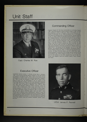 Page 8, 1983 Edition, University of Virginia Naval ROTC - Long Glass Yearbook (Charlottesville, VA) online yearbook collection