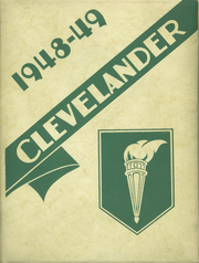 1949 Edition, Cleveland High School - Clevelander Yearbook (Gate City, VA)