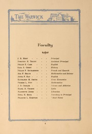 Page 10, 1927 Edition, Morrison High School - Warwick Yearbook (Morrison, VA) online yearbook collection