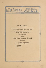 Page 7, 1927 Edition, Morrison High School - Warwick Yearbook (Morrison, VA) online yearbook collection
