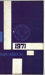 1971 Edition, Dabney S Lancaster Community College - Aquarius Yearbook (Clifton Forge, VA)