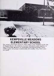 Page 5, 1985 Edition, Kempsville Meadows Elementary School - Lark Yearbook (Virginia Beach, VA) online yearbook collection