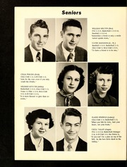 Page 14, 1954 Edition, Oak Hill High School - Oak Leaf Yearbook (Virgilina, VA) online yearbook collection