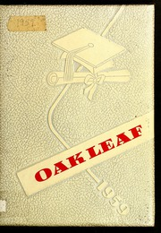 1959 Edition, Oak Hill High School - Oak Leaf Yearbook (Virgilina, VA)