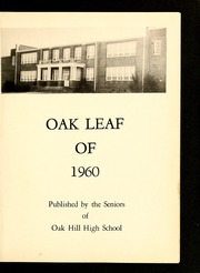 Page 5, 1960 Edition, Oak Hill High School - Oak Leaf Yearbook (Virgilina, VA) online yearbook collection