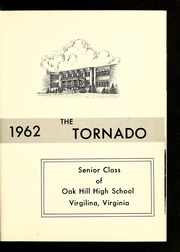 Page 5, 1962 Edition, Oak Hill High School - Oak Leaf Yearbook (Virgilina, VA) online yearbook collection