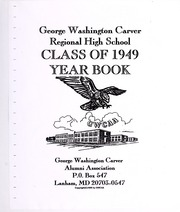 Page 1, 1949 Edition, George Washington Carver Regional High School - Hawk Yearbook (Culpeper, VA) online yearbook collection