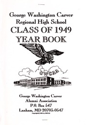 Page 3, 1949 Edition, George Washington Carver Regional High School - Hawk Yearbook (Culpeper, VA) online yearbook collection