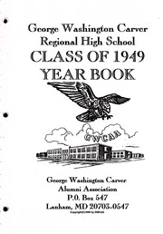 Page 5, 1949 Edition, George Washington Carver Regional High School - Hawk Yearbook (Culpeper, VA) online yearbook collection