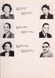 Page 13, 1953 Edition, George Washington Carver Regional High School - Hawk Yearbook (Culpeper, VA) online yearbook collection
