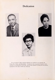 Page 6, 1960 Edition, George Washington Carver Regional High School - Hawk Yearbook (Culpeper, VA) online yearbook collection