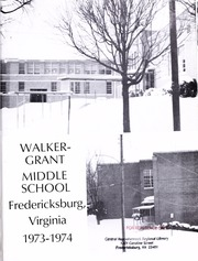 Page 5, 1973 Edition, Walker Grant Middle School - Trojan Yearbook (Fredericksburg, VA) online yearbook collection