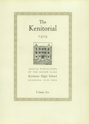 Page 9, 1929 Edition, Kenmore High School - Kenitorial Yearbook (Kenmore, NY) online yearbook collection