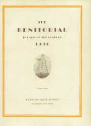 Page 9, 1930 Edition, Kenmore High School - Kenitorial Yearbook (Kenmore, NY) online yearbook collection