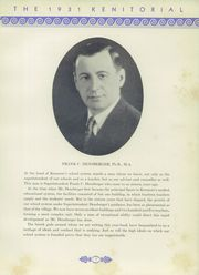 Page 13, 1931 Edition, Kenmore High School - Kenitorial Yearbook (Kenmore, NY) online yearbook collection