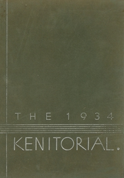 1934 Edition, Kenmore High School - Kenitorial Yearbook (Kenmore, NY)