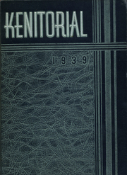 1939 Edition, Kenmore High School - Kenitorial Yearbook (Kenmore, NY)