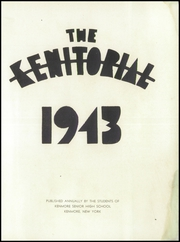 Page 5, 1943 Edition, Kenmore High School - Kenitorial Yearbook (Kenmore, NY) online yearbook collection