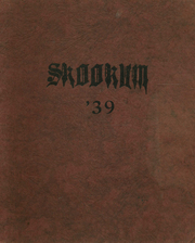 1939 Edition, Colville High School - Skookum Yearbook (Colville, WA)