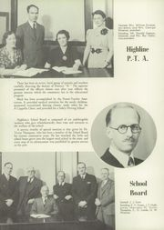 Page 12, 1939 Edition, Highline High School - Pirates Log Yearbook (Burien, WA) online yearbook collection