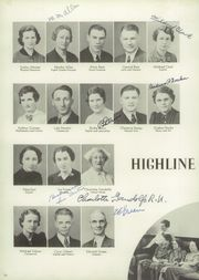 Page 14, 1939 Edition, Highline High School - Pirates Log Yearbook (Burien, WA) online yearbook collection