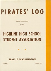 Page 7, 1945 Edition, Highline High School - Pirates Log Yearbook (Burien, WA) online yearbook collection