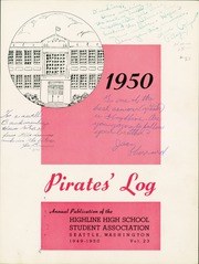 Page 5, 1950 Edition, Highline High School - Pirates Log Yearbook (Burien, WA) online yearbook collection