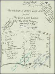 Page 5, 1946 Edition, Bothell High School - Cougar Yearbook (Bothell, WA) online yearbook collection
