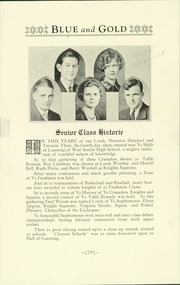 Page 33, 1927 Edition, West Seattle High School - Kimtah Yearbook (Seattle, WA) online yearbook collection