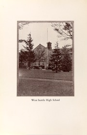 Page 12, 1930 Edition, West Seattle High School - Kimtah Yearbook (Seattle, WA) online yearbook collection