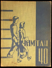 Page 1, 1940 Edition, West Seattle High School - Kimtah Yearbook (Seattle, WA) online yearbook collection