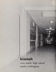 Page 8, 1960 Edition, West Seattle High School - Kimtah Yearbook (Seattle, WA) online yearbook collection