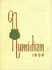 1959 Edition, Lakeside School - Numidian Yearbook (Seattle, WA)