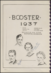 Page 6, 1937 Edition, West High School - Cat Log Yearbook (Bremerton, WA) online yearbook collection