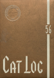 1956 Edition, West High School - Cat Log Yearbook (Bremerton, WA)