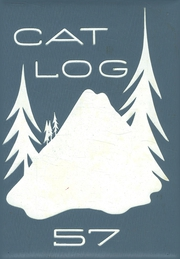 1957 Edition, West High School - Cat Log Yearbook (Bremerton, WA)